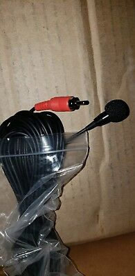 Panasonic Arbitrator interior microphone with rca connector 25 ft
