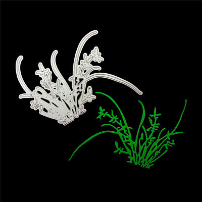 Orchid grass Metal Cutting Dies Stencil for DIY Scrapbooking Album Paper CardsFE