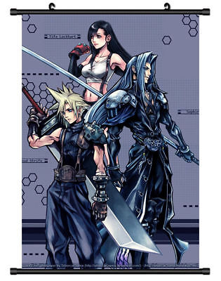 "Hot Anime Game Final Fantasy Lockhart Poster Wall Scroll Home Decor 8""x12"" F126"