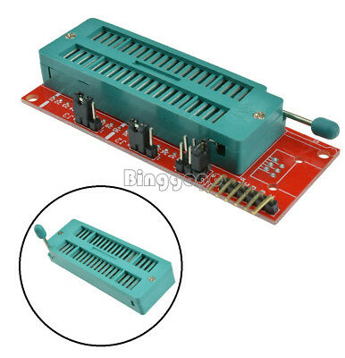 PIC ICD2 Program Adapter Pic Kit 2 PICKIT 3 Programmer Seat Board 40Pin Socket F