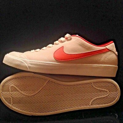 58bc436b9277 Men Nike SB Zoom All Court CK Poler Cory Kennedy Ivory Orange 806306-181  size