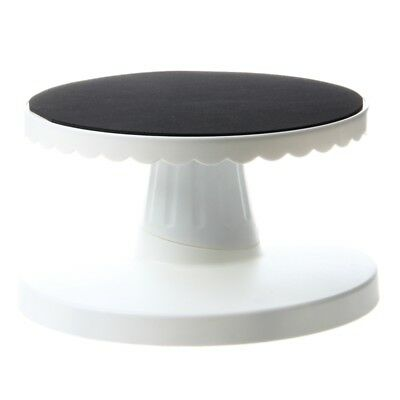 Rotating Icing Revolving Cake Tilting Turntable Decorating Stand Platform T9X1
