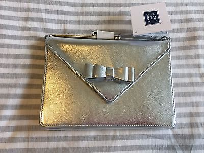 Janie and Jack Silver Purse Bag Special Occasion NWT HTF