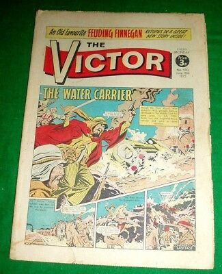 INDIAN ARMY v ARABS  BAGHDAD RAILWAY 1920  WW1 COVER STORY IN VICTOR 10/6/1972