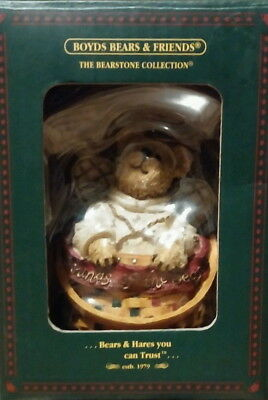 NEW Boyds Bears & Friends Angelbeary Sounds of the Season Christmas Ornament
