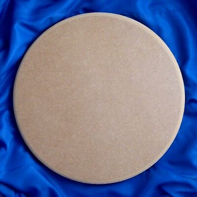 Circle 12mm thick Round-Edged MDF 100mm - 750mm diameter  (wooden shape)