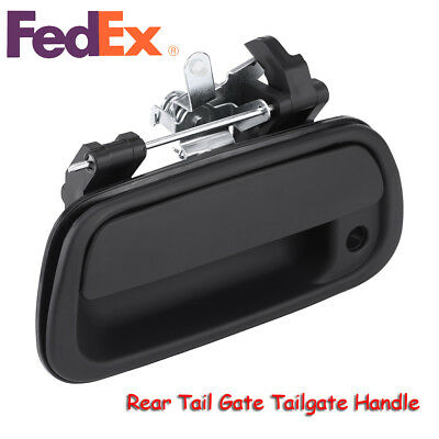 Black Rear Tail Gate Tailgate Handle for 2000-2006 Toyota Tundra Pickup Truck