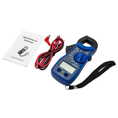 Handheld LCD Digital Multimeter Auto Clamp Meter Volt AC DC 600Amp Multi Tester