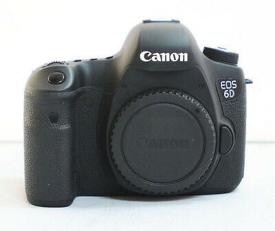 Canon EOS 6D 20.2MP Digital SLR Camera - Black (Body Only)