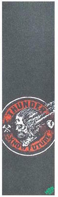 "Mob Skateboard Grip Tape Sheet - 9"" x 33"" - Thunder Know Future - Red"
