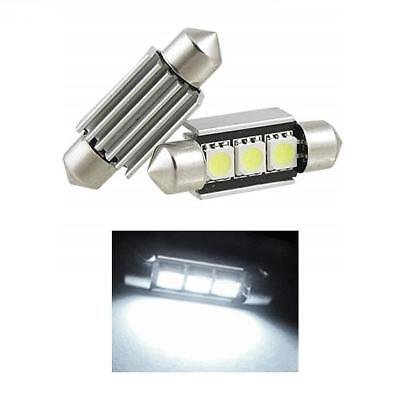 1x Vauxhall Vectra MK1//B Bright Xenon White LED Number Plate Upgrade Light Bulb