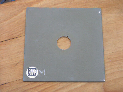 genuine Sinar norma ,F & P fit   lens board panel compur 00 25.2mm hole