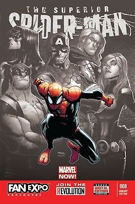 Superior Spider-Man #18 Fan Expo Variant 1000 Only Very Rare + Htf New Nm B&b
