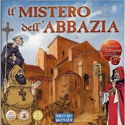 The Mistero of the'Abbey - Game table Days of Wonder - New, Italiano