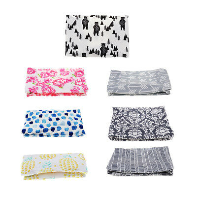 Stretchy Baby Summer Reusable Diaper Change Table Pad Covers for Girls Boys