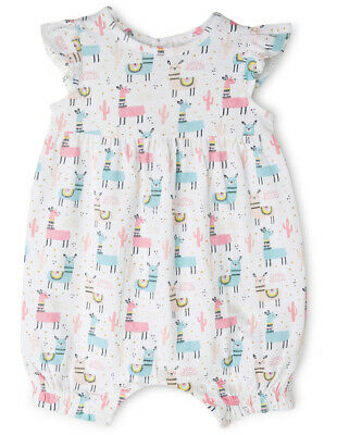 NEW Sprout Girls Romper NGS19019-CW1. White