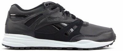 3cc4e540ee4bf Men Reebok Ventilator Gallery Leather Shoes Black   White Size 8-11 Msrp   110