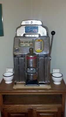Slot Machine 5 cent ONE ARM BANDIT JENNINGS Export Chief 1930 Green Bay,WI