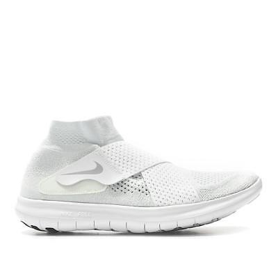 3abfe2cf358 NIKE FREE RN Motion Flyknit 2017 Mens Running Shoes 15 White 880845 ...