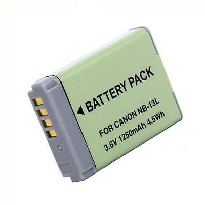Replacement Battery for Canon NB-13L SX720 HS G7 X MARK II G7X G5 G9X G5X SX720