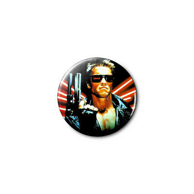 The Terminator 1.25in Pins Buttons Badge *BUY 2, GET 1 FREE*