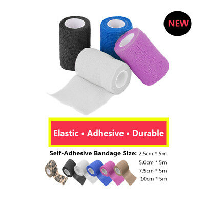Self-Adhesive Elastic Bandage First Aid Medical Health Treatment Gauze Tape AQ