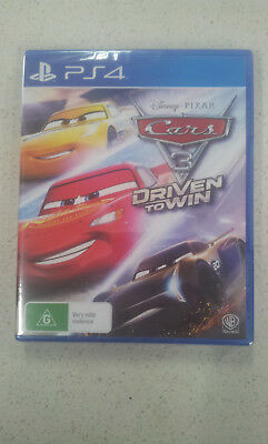 Cars 3 Driven to Win PS4 Game (New and Sealed)