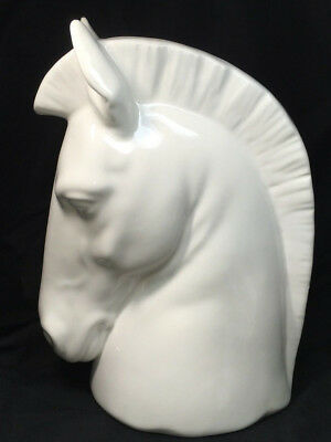 Hispania Porcelain Horse Head Sculpture Daisa 1986