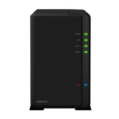 Synology NVR1218 2 Bay 12 Channel Network Video Recorder