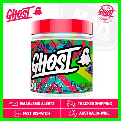 GHOST® Legend | Pre-Workout - FREE Shipping - Citrulline Beta-Alanine Caffeine