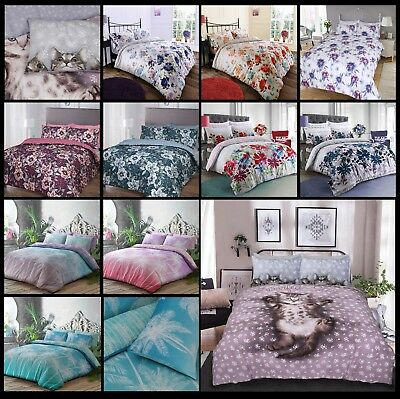 New Floral Blossom Flowers Design Duvet Quilt Covers with Pillowcase Bedding Set