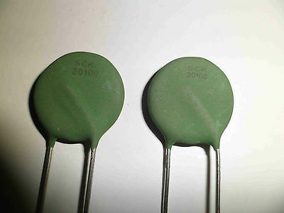 SCK20100 Power Thermistor (2 pieces) New