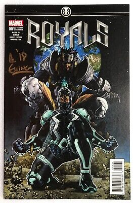 Royals #1 SIGNED AL EWING 1:25 Bianchi variant RARE/HTF NEW NM B&B