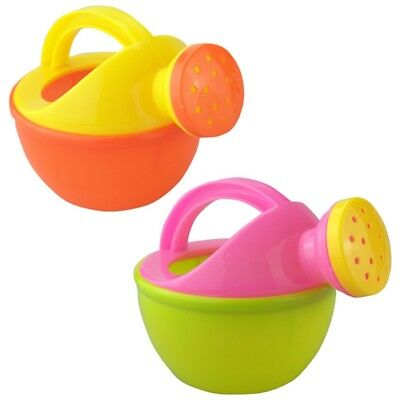 Baby Bath Toy Plastic Watering Can Watering Pot Beach Play Sand Toy Gift Random