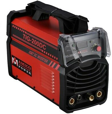 Amico 200 Amp TIG Torch Arc Stick DC Inverter Welder 110V 230V Welding Machine