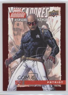 2016 Upper Deck Marvel Annual Red #52 Patriot Non-Sports Card 1md