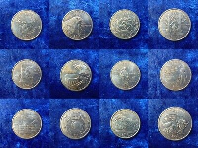 United States State Quarters 1999 - 2009 Huge Multi-Listing Many Available