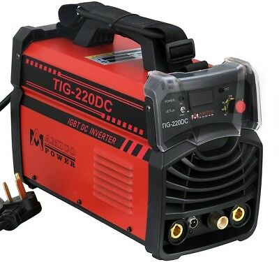Amico 220 Amp TIG Torch Arc Stick DC Inverter Welder 110V 230V Welding Machine