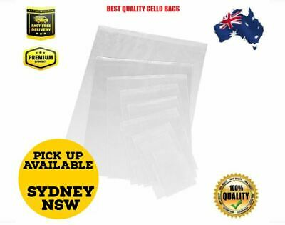 Clear Self Sealing Cellophane / Cello Sealable Plastic Bags Like Zip Locks
