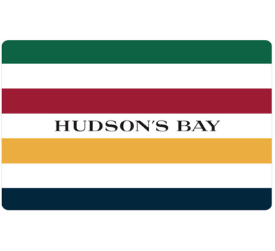 Buy $100 Hudson's Bay Gift Card for only $90 - Email Delivery