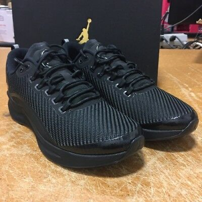 1f5af5029e8f1 Nike Men s Air Jordan Zoom Tenacity Running Shoes Sneakers Triple Black Size  10