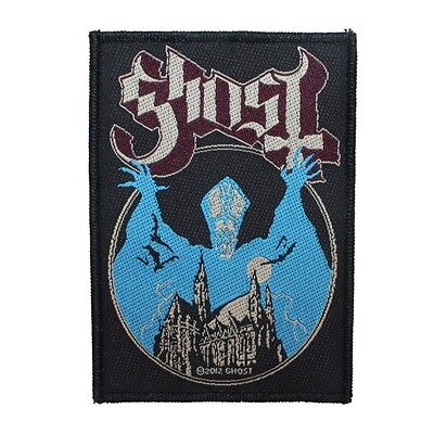 Ghost BC Opus Eponymous Patch Album Art Heavy Metal Music Woven Sew On Applique