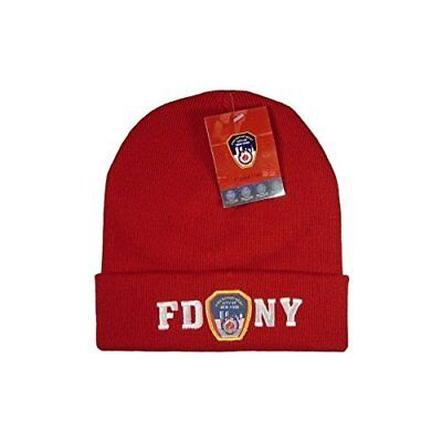6744aff4162 FDNY Winter Hat Beanie Skull Cap Officially Licensed by The New York City.
