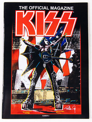 KISS OFFICIAL MAGAZINE 2018, Gene Simmons Cover