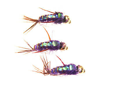 Flashback Nymphs Choice Of Size Colour & Qty Trout Grayling & Panfish Fly Fish