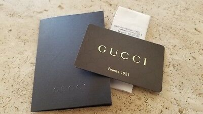 23c3a8f55b Gucci Gift Card $229.95 No Expiration -- No Reserve + Free & Fast Shipping!