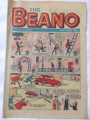 DC Thompson THE BEANO Comic. Issue 1501 April 24th 1971 **Free UK Postage**