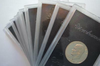 A Small Cache of 1973-S 40% Silver Proof Eisenhower Dollars Lot 399