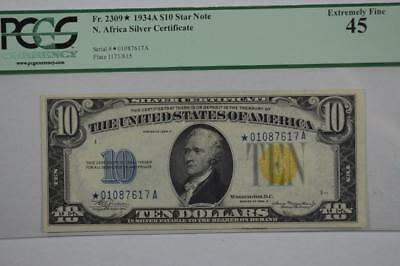 $10.00 North Africa Silver Certificate Star Note Lot 121