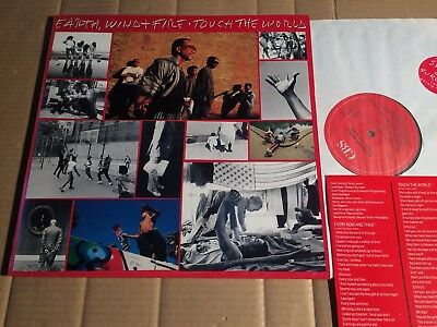 Earth Wind & Fire - Touch The World - Lp - England 1987 - Ois (Di1916)